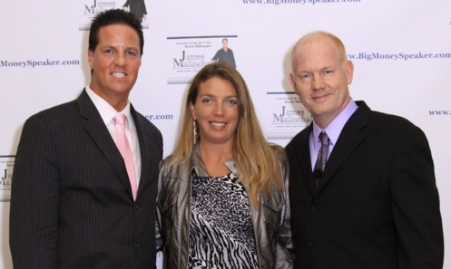"Brenda Crompton hanging out with James Malinchak, featured on ABC's hit TV show, ""Secret Millionaire"" and Glenn Morshower a.k.a Aaron Pierce on hit TV show ""24"" and featured in the movies ""Transformers"", ""XMen"", and ""MoneyBall"""